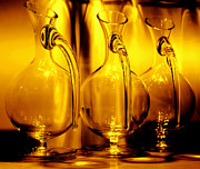Carafe Prints - Light and Color Play II Print by Jenny Rainbow