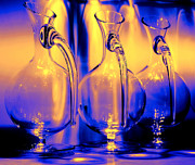 Interior Still Life Metal Prints - Light and Colors Play I Metal Print by Jenny Rainbow