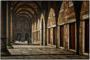 Sultanahmet Posters - Light and Shadow Poster by Joan Carroll