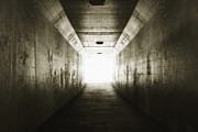 Point Arena Prints - Light at the end of a Tunnel Print by Tim Hawley