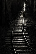 Light At The End Of The Tunnel Print by Naman Imagery