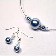 Bridal Jewelry Jewelry - Light Blue Pearls from the Lux Collection by Kelly DuPrat
