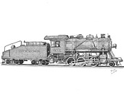 Shipping Drawings - Light Frieght Steam Engine by Calvert Koerber
