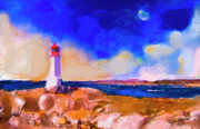 Ted Azriel - Light House At Peggys...