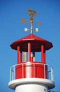 Weathervane Digital Art Prints - LIGHT HOUSE on CONEY ISLAND Print by Rob Hans