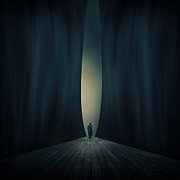 Surreal Art Photo Prints - Light Print by Ian Barber
