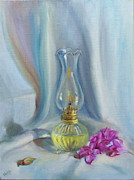 Oil Lamp Originals - Light by Manju Roy