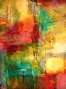 Modern Abstract Artwork Paintings - Light Moments by Lutz Baar