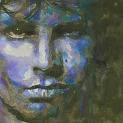 Jim Morrison Painting Posters - Light My Fire  Poster by Paul Lovering
