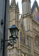 Church Street Digital Art Framed Prints - Light of Orvieto Framed Print by Mindy Newman