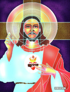 Jesus Digital Art Prints - Light of the World Print by Dean Gleisberg