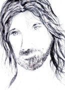 Jesus Drawings - Light of the World  by Vicki Lynn Sodora