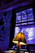 Abandoned Houses Photos - Light On by Emily Stauring