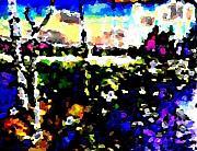 Light Overcomes Darkness Print by Navo Art