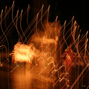 Abstract Expressionism Photo Prints - Light Parade Print by Kurt Gustafson