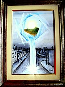 Neo Surrealism Prints - Light Portal Print by Paulo Zerbato