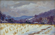 Thor Wickstrom - Light Snow Berkshires
