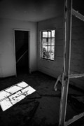 Abandoned Houses Prints - Light Socket Print by Wayne Stadler