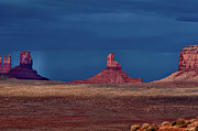 Monument Valley Photos - Light Through Storm by Jean Day Landscape Photography