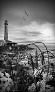 White Lighthouse.light Framed Prints - Light Within Framed Print by Lourry Legarde
