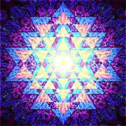 Sacred Art Digital Art - Light Yantra by Clare Goodwin