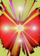 First Chakra Prints - Lightcross No. 01 Print by Ramon Labusch