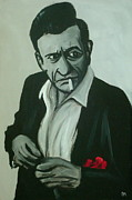 Johnny Cash Prints - Lighten Up Print by Pete Maier