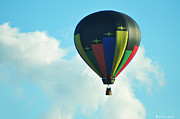 Balloon Digital Art Prints - Lighter Than Air Print by Bill Cannon