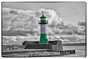 Lighthouse Baltic Sea Print by Enrico Becker