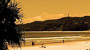Lighthouse Digital Art - Lighthouse Byron Bay by Edan Chapman
