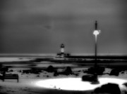 White Lighthouse.light Framed Prints - Lighthouse Canal Park Framed Print by Jimmy Ostgard