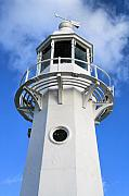 Kernow Photos - Lighthouse by Carl Whitfield