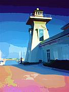 Lighthouse Print by Deborah MacQuarrie