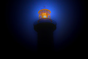 Joanne Kocwin Photo Posters - Lighthouse Glow Poster by Joanne Kocwin