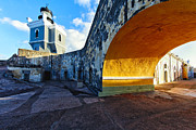 El Morro Photos - Lighthouse in Fort El Morro by George Oze