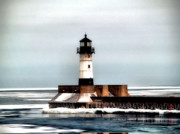 Lighthouse Print by Jimmy Ostgard