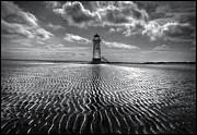 Talacre Framed Prints - Lighthouse Framed Print by Mal Bray