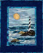 Seas Tapestries - Textiles - Lighthouse by Maureen Wartski