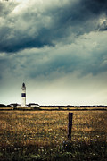 Lighthouse Of Kampen -vintage Print by Hannes Cmarits