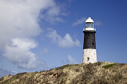 Beacons Prints - Lighthouse on Hillside Print by Jon Boyes