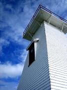 Lighthouse Prince Edward Island Print by Ann Powell