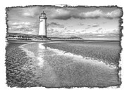 Talacre Framed Prints - Lighthouse Reflected Framed Print by Mal Bray