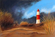 Lighthouse Pastels - Lighthouse by Renate Dohr