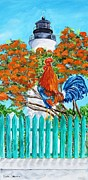 Linda Cabrera - Lighthouse Rooster II