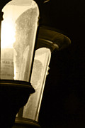 Lamp Post Prints - Lighting The Way Print by Gary Brandes