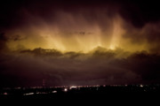 Bo Insogna Prints - Lightning Cloud Burst Boulder County Colorado IM29 Print by James Bo Insogna