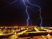 Power In Nature Prints - Lightning Print by Miguel Tarso Photo