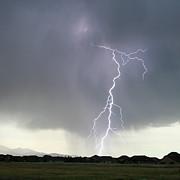 Lightning Strike Print by Bill Dunford