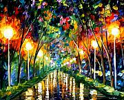 Lights Of Hope Print by Leonid Afremov