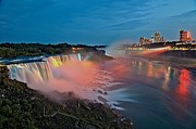 Adam Photos - Lights On Niagara by Adam Jewell